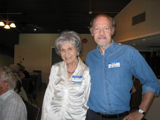 Alice Munro and Douglas Gibson